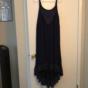 Torrid size 1 navy blue high low dress